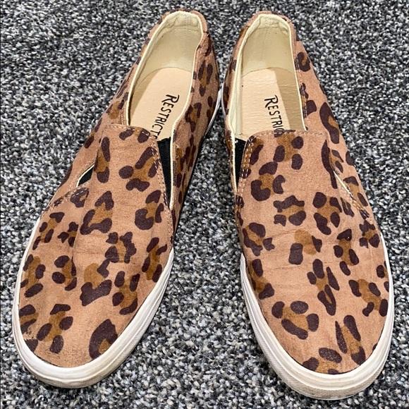 Restricted Shoes   Leopard Print Slip